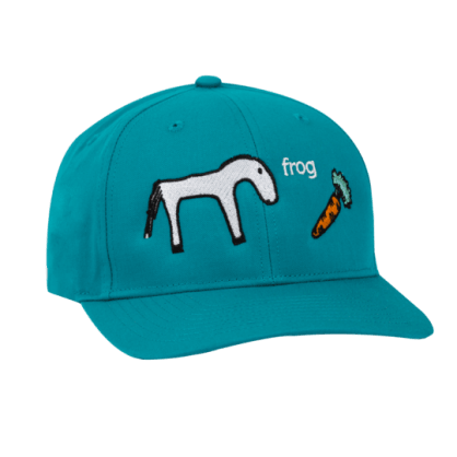 Frog Skateboards Horse Hat - Teal