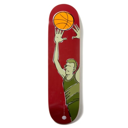 Girl Skateboards McCrank Crail Classics Basketball Deck 8.37 SALE/SLIGHT WARP