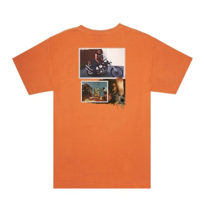 Hockey - Biker Tee - Orange