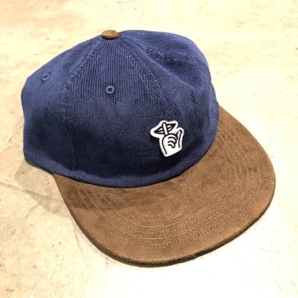 The Quite Life Cord Felt Patch Polo Snapback