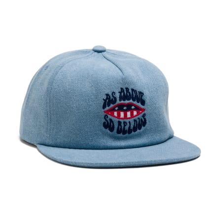 Above & Below Snapback Cap