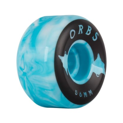 Orbs Specters - Conical - 100A - Swirls - 56mm (Blue/White