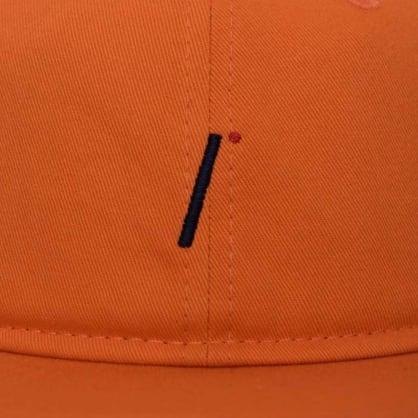 Isle Skateboards - i logo 6 panel Orange