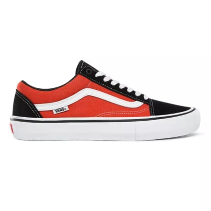 Vans Old Skool Pro Shoes Black/Orange