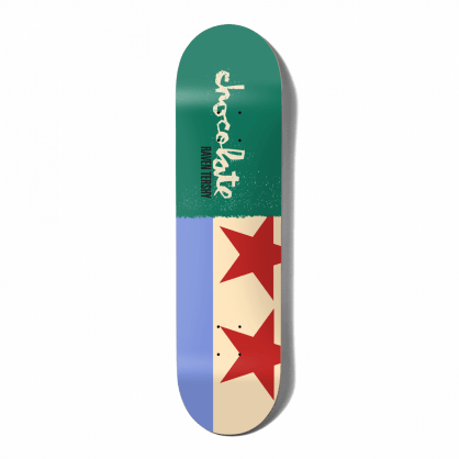 "Chocolate Skateboards - 8.5"" Raven Tershy Giant Flags Deck"