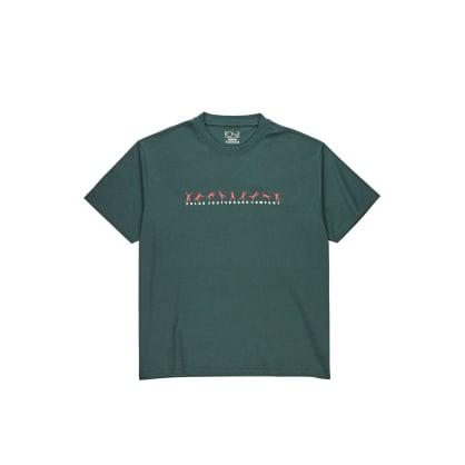 Polar Skate Co Cartwheel T-Shirt - Grey Teal