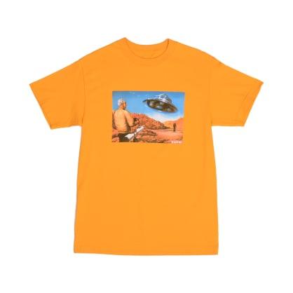 Quasi UFO T-Shirt - Gold