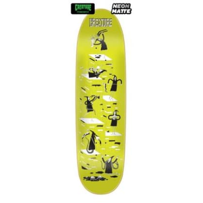 Creature Skateboard Deck Free For All LG Powerply 8.8in x 31.48in