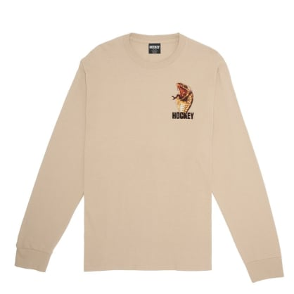 Hockey Snake Long Sleeve T-Shirt - Sand