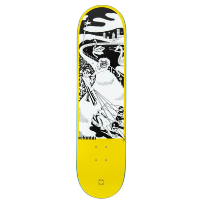 "WKND ""Dog, Walking"" Alex Schmidt Skateboard Deck - 8"""