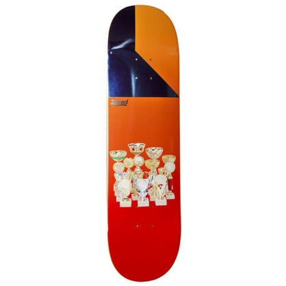 Alltimers Wins Zered Skateboard Deck 8.25""