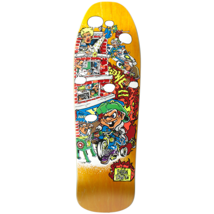 The New Deal Skateboards Howell Tricycle Kid Deck