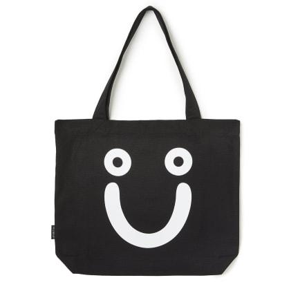 Polar Skate Co Happy Sad Tote Bag - Black