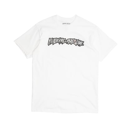 Fucking Awesome Actual Visual Guidance T-Shirt - White