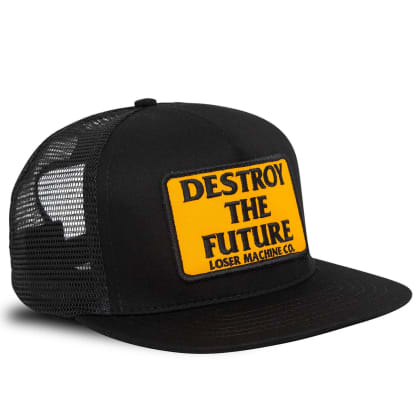 Loser Machine Destroy Trucker Cap | Black