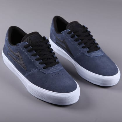 Lakai X Creature 'Manchester' Skate Shoes (Midnight Suede)