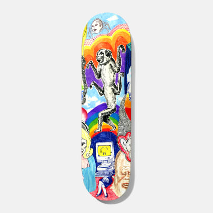 Baker Skateboards Reynolds Thoughts Skateboard Deck - 8""