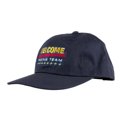 WELCOME Race Team Snapback Hat Navy