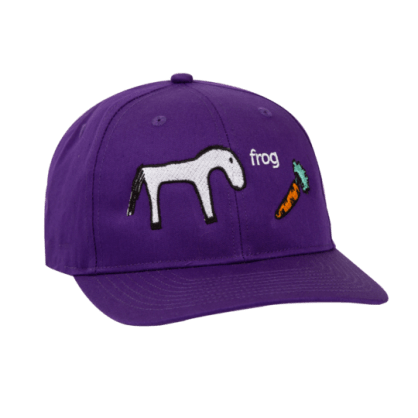 Frog Skateboards Horse Hat - Purple