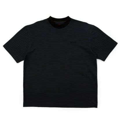 WKND Stripe T-Shirt - Black / Blue