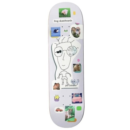 Frog Skateboards Pat Gallaher Quest for Cuteness Skateboard Deck - 8.6""