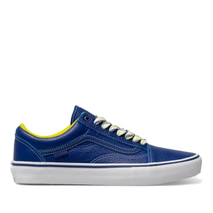 Vans x Quartersnacks Old Skool Pro Skate Shoes - Royal