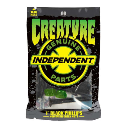 Creature Bolts CSFU Phillips Indy Black/Green 1 IN
