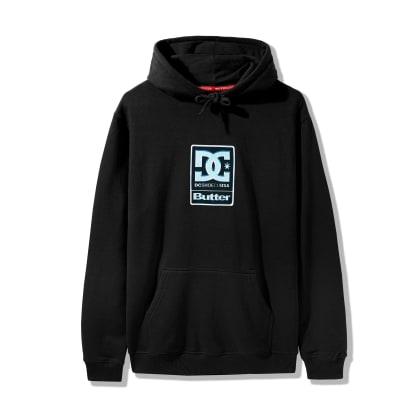 DC Shoes x Butter Goods Badge Hoodie - Black