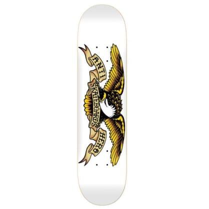 Anti Hero Skateboards Classic Eagle XXL White Skateboard Deck - 8.75