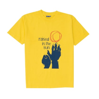 Andrew - Raised Tee - Spectra Yellow