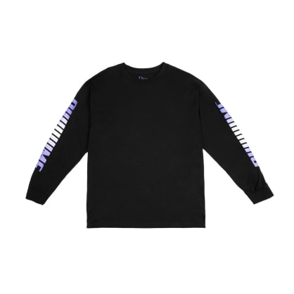 DIME SCREAMING L/S TEE - BLACK