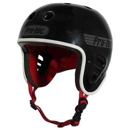 Pro-Tec Full Cut Helmet (Gloss Black)