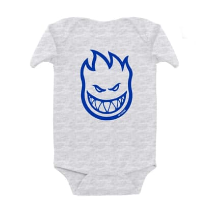 SPITFIRE Toddler Bighead Onesie Ash Heather/Blue