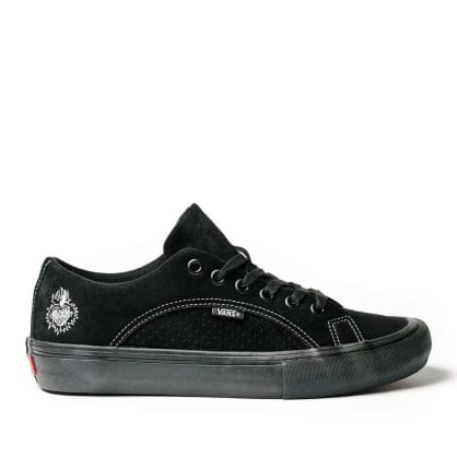 Vans x Slam City Lampin Pro Skate Shoes - Black / Black