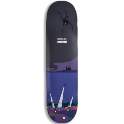 """Numbers Durao Edition 6 Series 1 Skateboard Deck - 8.375"""""""