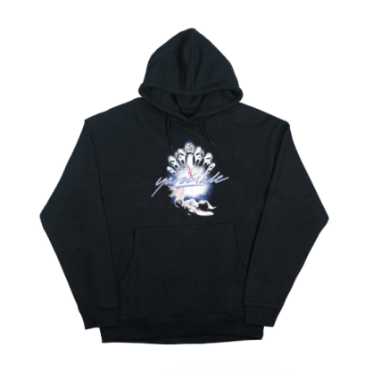 Yardsale - Scream Pullover Hooded Sweatshirt - Black
