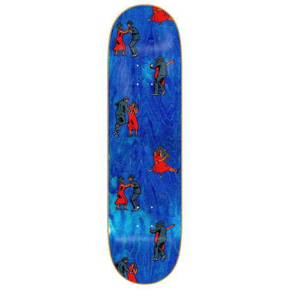 Skateboard Cafe Dance All Over Deck - Blue