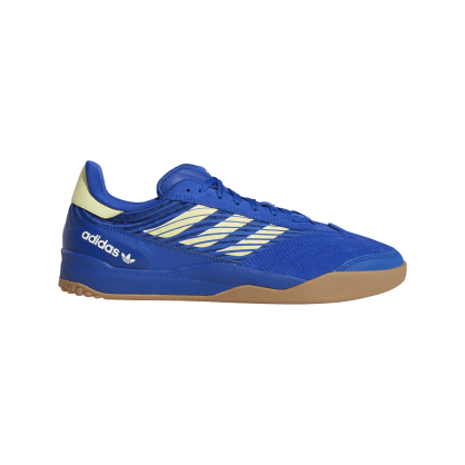 Adidas Copa Nationale Skate Shoe - Team Royal Blue / Yellow Tint / FTWR White