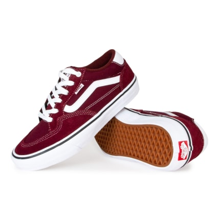 Vans Rowan Pro Shoes - Port/White