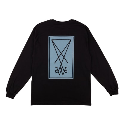 Welcome Skateboards Symbol Premium Long Sleeve T-Shirt - Black / Slate