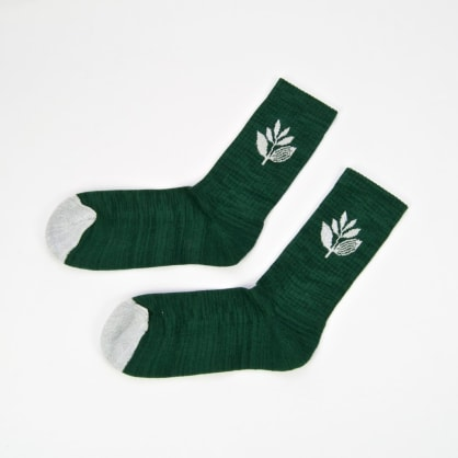 Magenta Skateboards - Plant Socks - Green