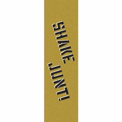 Shake Junt Spray Logo Griptape - Gold/Black