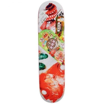 "Numbers ""Rodrigo Teixeira - Series Two"" pro Skateboard Deck 8"""