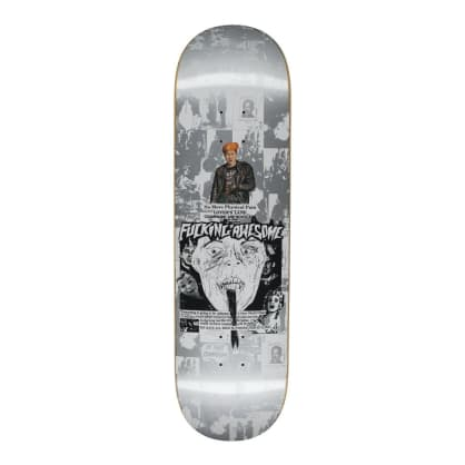 Fucking Awesome Face Reality Skateboard Deck - 8.5""