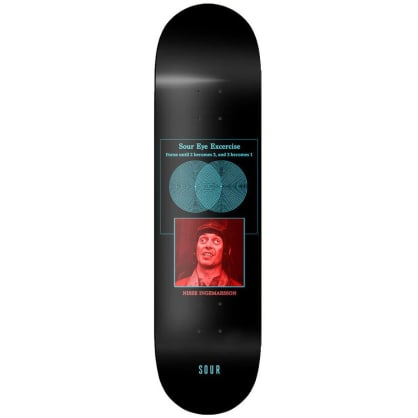 Sour Nisse Sour Eyes Deck 8.125""