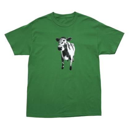 Bronze 56k Cow T-Shirt - Kelly Green