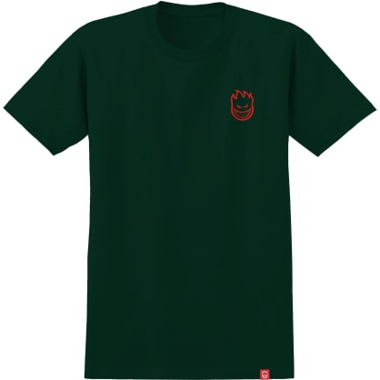 SPITFIRE Lil Bighead Tee Forest Green/Red