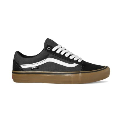 Vans - Old Skool Pro (Black/Gum)