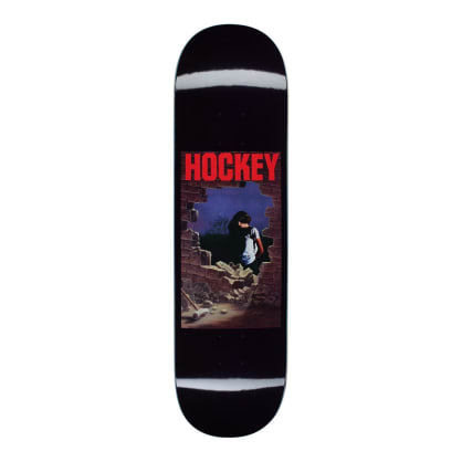 Hockey Dawn Skateboard Deck - 8""