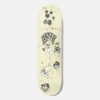 Baker Skateboards Kevin Spanky Long Santino Skateboard Deck - 8.00